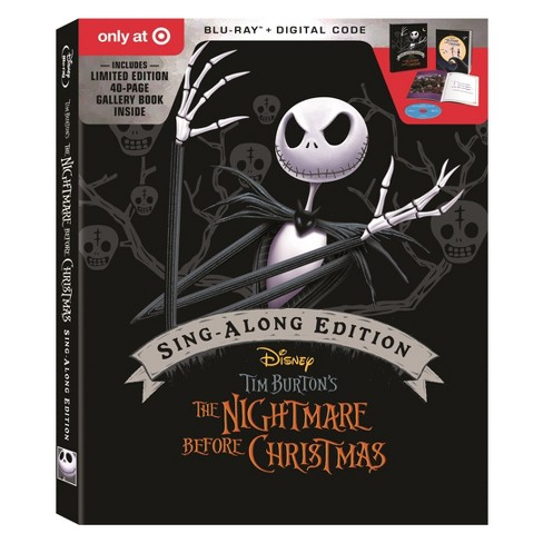 blu ray the nightmare before christmas 25th anniversary edition blu ray digital target exclusive - Why Is Christmas On The 25th