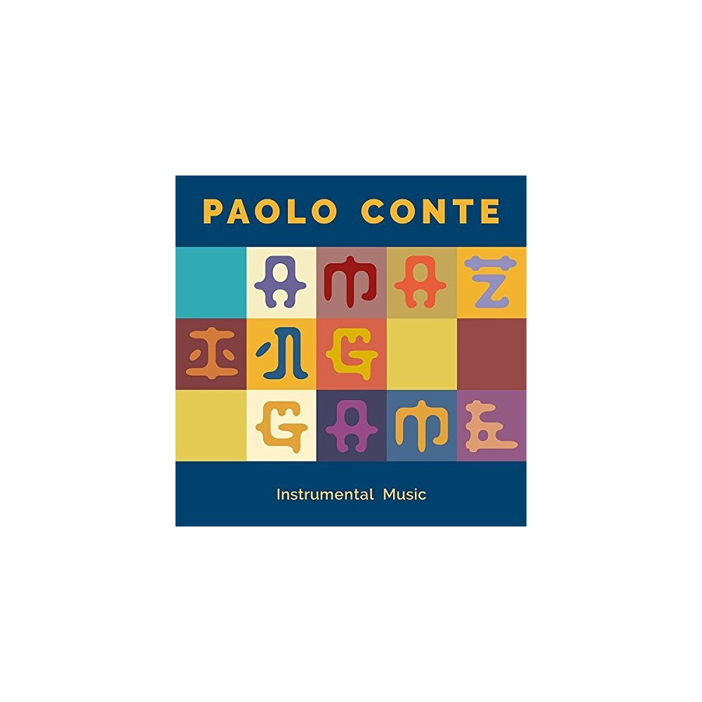 Paolo Conte - Amazing Game:Instrumental Music (CD)