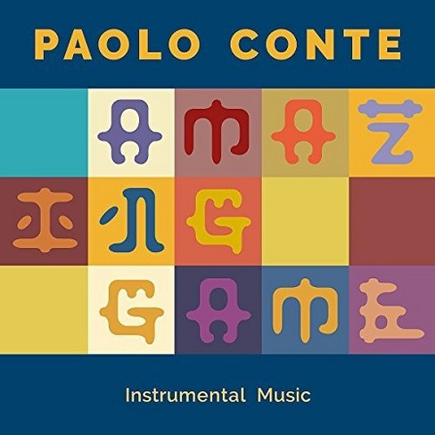 Paolo Conte - Amazing Game:Instrumental Music (CD) - image 1 of 1