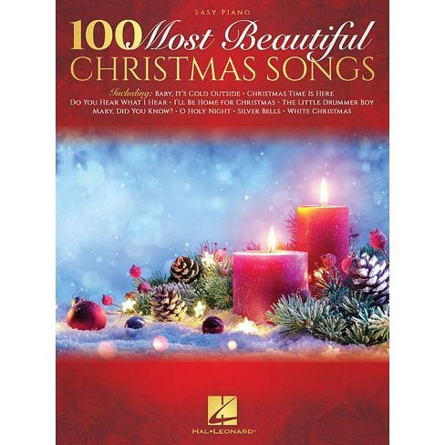 100 Most Beautiful Christmas Songs - (Paperback) - image 1 of 1