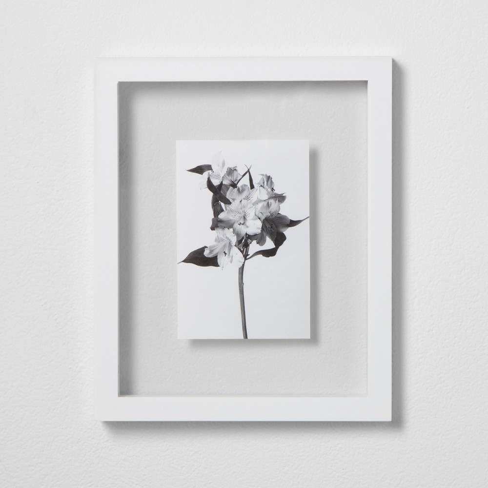 Thin Gallery Float Frame White 8