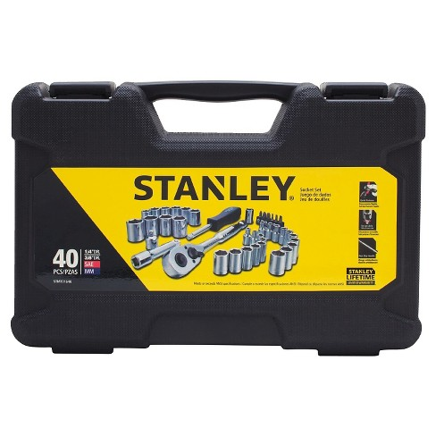 e82d499a2 STANLEY® 40 Piece Mechanics Socket Set - STMT71648   Target