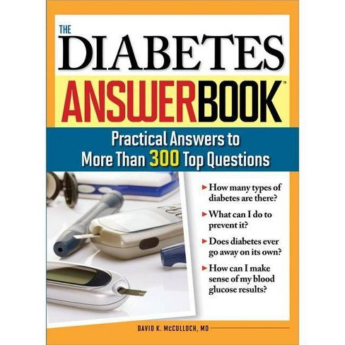 The Diabetes Answer Book - by  David K McCulloch (Paperback) - image 1 of 1