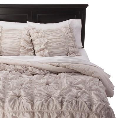 Rizzy Home Knots Texture Comforter Set - Gray (Queen)