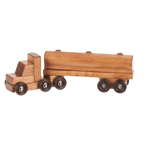 Remley Kids Wooden Toy Tank Truck - image 1 of 1