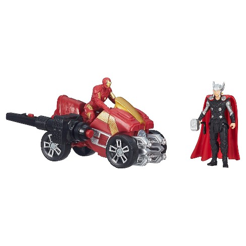 Marvel Avengers Age of Ultron Thor and Iron Man Figures with Arc ATV Vehicle - image 1 of 2