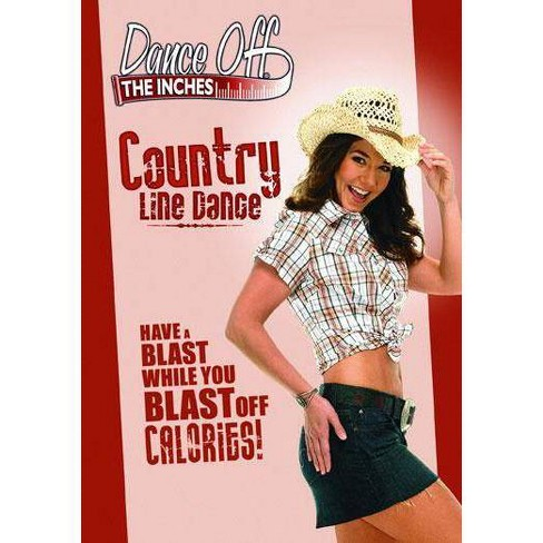 Dance Off The Inches: Country Line Dance (DVD) - image 1 of 1