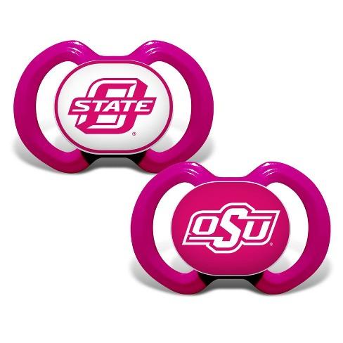 NCAA Oklahoma State Cowboys Baby Pink 2pk Pacifier Set - image 1 of 3