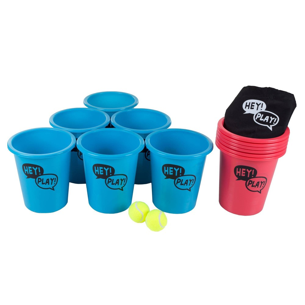 Image of Hey! Play! Kids' and Adults Large Pong Outdoor Game Set, Adult Unisex