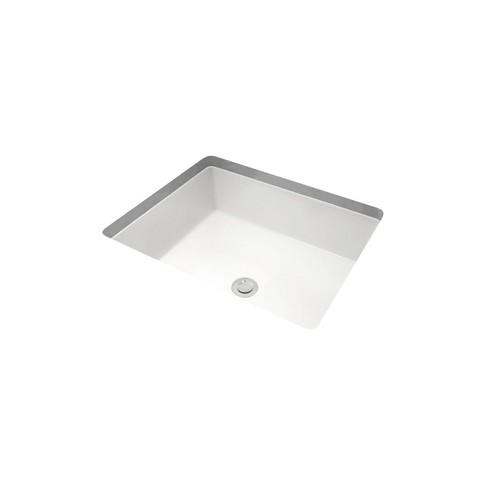 Miseno Mno1713ru 19 7 8 Rectangular Undermount Bathroom Sink With Rear Overflow Target