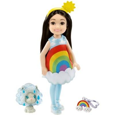 Barbie Club Chelsea Dress-Up Doll - Rainbow Costume