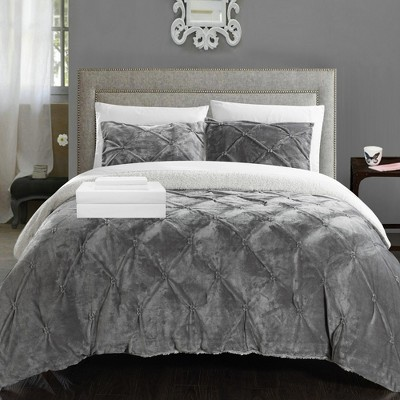 Chic Home Roal Decorative Shams - Grey