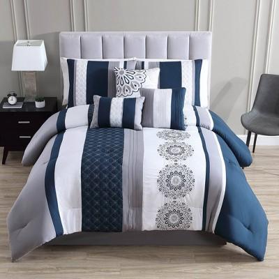 Crenshaw Comforter Set - Riverbrook Home