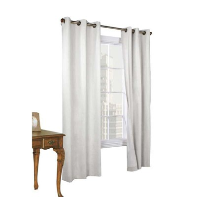 Thermalogic Weather Cotton Fabric Grommet Top Window Panel Pair