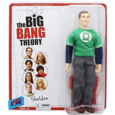 "Bif Bang Pow Big Bang Theory Sheldon (Green Lantern/ The Flash) Retro Clothed 8"" Figure"
