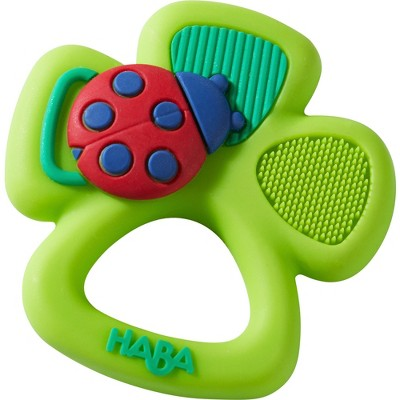 HABA Lucky Shamrock Silicone Teething Toy