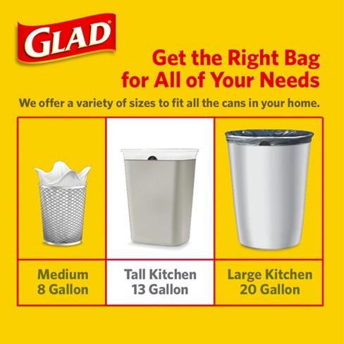Glad Odorshield Febreze Freshness Scented Tall Kitchen Drawstring Trash Bags 100ct Target