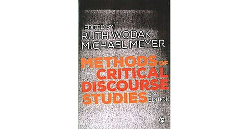 Methods of Critical Discourse Studies (Paperback) - image 1 of 1