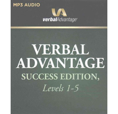 Verbal Advantage Success Edition, Levels 1-5 (MP3-CD) (Charles Harrington Elster) - image 1 of 1