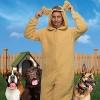 Funziez! Golden Dog Slim Fit Adult Unisex Novelty Union Suit - image 3 of 4
