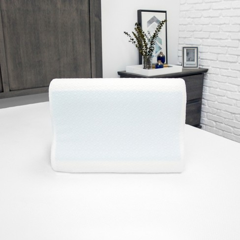 SensorPEDIC Essential Collection Gel-Overlay Memory Foam Contour Bed Pillow - image 1 of 4