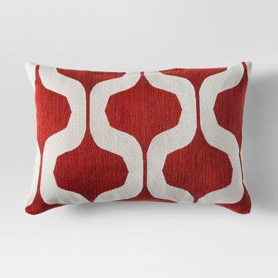 Orange Ogee Lumbar Throw Pillow - Project 62™