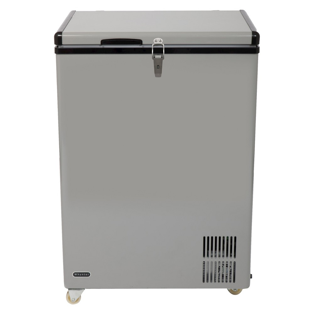 Whynter 95 Quart Portable Wheeled Freezer -Gray FM-951GW, Gray 50253482