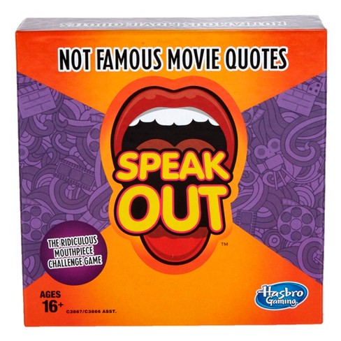 Speak Out Expansion Pack: Not Famous Movie Quotes Board Game - image 1 of 3