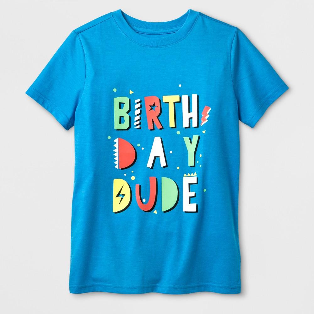Boys' Short Sleeve Graphic T-Shirt - Cat & Jack Blue Xxl