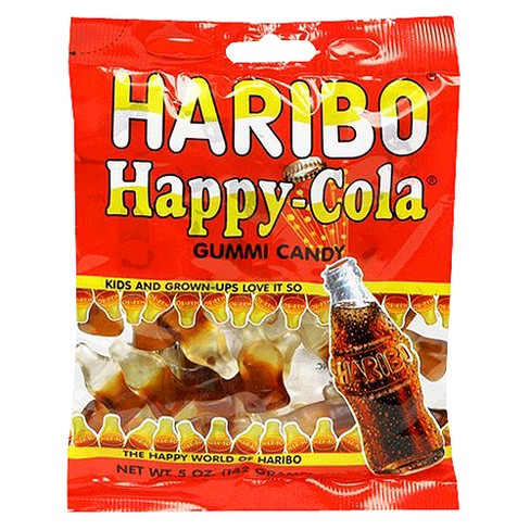 HARIBO Happy Cola Gummi Candy - 8oz - image 1 of 1