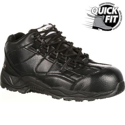 Lehigh Safety Shoes Men's Black Composite Toe Hiker