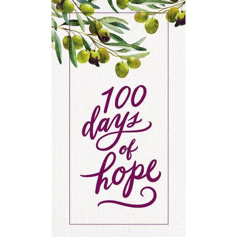 100 Days of Hope -  by Thomas Nelson (Hardcover) - image 1 of 1