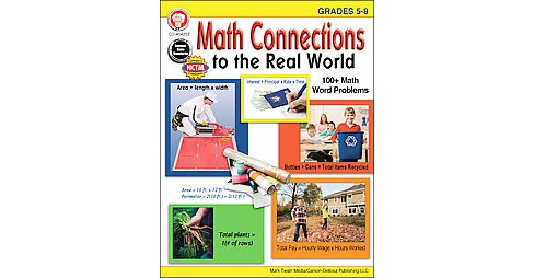 Math Connections to the Real World, Grades 5-8 (Paperback) (Linda Armstrong) - image 1 of 1