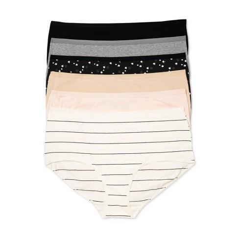 Women's Plus Size Briefs 6pk - Auden™ Assorted - image 1 of 3