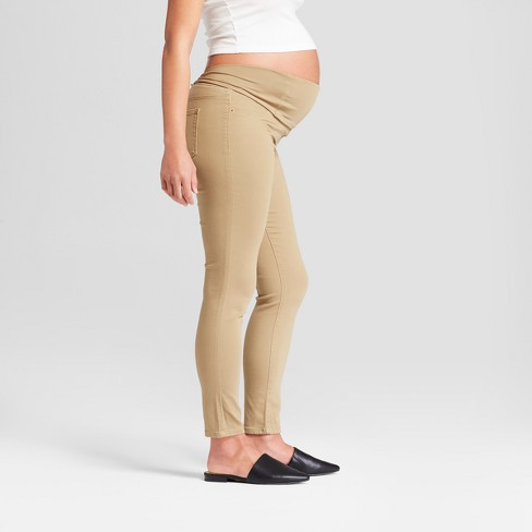 17b0d907b2917 Shop all Isabel Maternity by Ingrid & Isabel. Play 53216960 : Maternity  Crossover Panel Skinny Jeans - Isabel ...