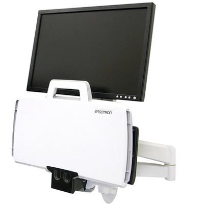 """Ergotron 200 Series Monitor Arm Up to 24"""" Monitor White (45-230-216)"""