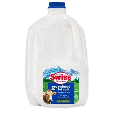 Swiss Premium 2% Reduced-Fat Milk - 1gal