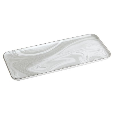 Wide Ceramic Tray Gray - Loft by Umbra™