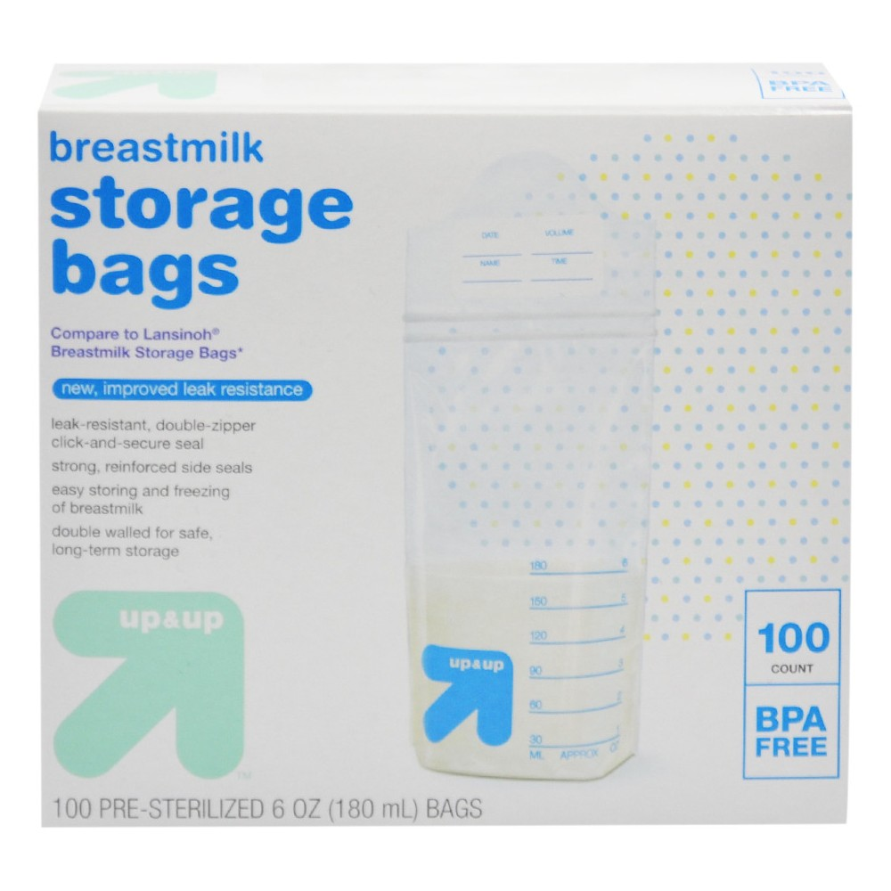 Image of Milk Storage Bags - 100ct - Up&Up