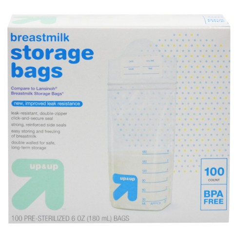 Milk Storage Bags 100ct Up