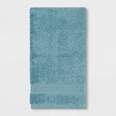 Spa Hand Towel Aqua - Threshold Signature™