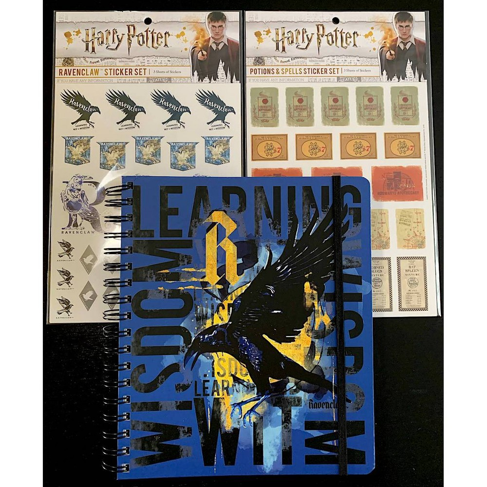 "Image of ""2020 Harry Potter Conquest Planner 7"""" x 9"""" with Stickers - Ravenclaw"""