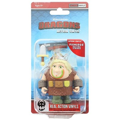 "The Loyal Subjects How To Train Your Dragon 3.25"" Action Vinyl: Fishlegs (Racing Stripes)"