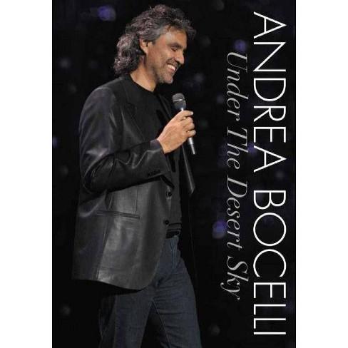 Andrea Bocelli: Under The Desert Sky (DVD) - image 1 of 1