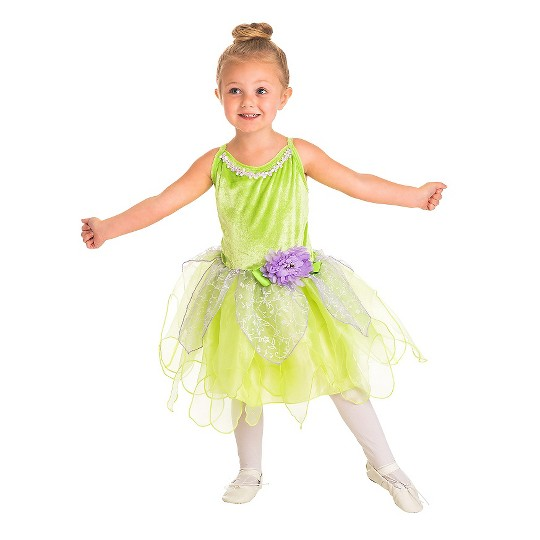 Little Adventures Girls' Tinkerbell Dress - S, Women's, Size: Small, Purple/Pink image number null