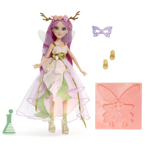 Project Mc2 Experiments with Doll- Ember's Fairy Wing Earrings - image 1 of 4