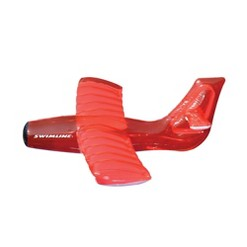"""""""Swimline Kids Inflatable Airplane Glider Swimming Pool Toy Float, Red 