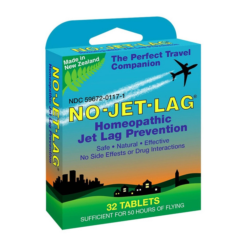 Image of No-Jet-Lag Homeopathic Jet Lag Prevention