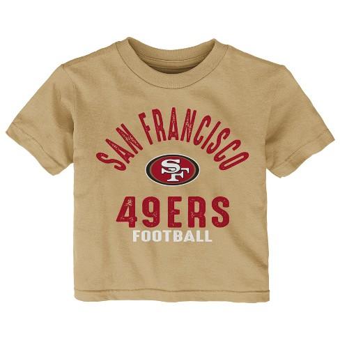 949d7c48f San Francisco 49ers Toddler Gametime Fun 3pk Shirt-Pants Set 4T   Target