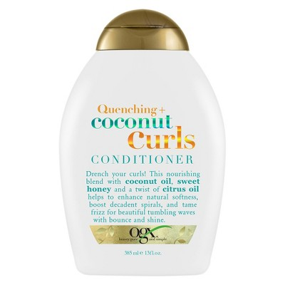 Shampoo & Conditioner: OGX Coconut Curls